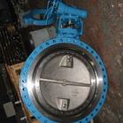 Flange Type Gear Operated